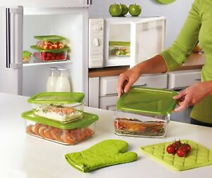Luminarc Keep N Box Rectangle Dish Food Storage Container Serving