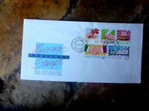 1988-PERSON-MESSAGE-STAMPS-BOOKLETS-NEW-ZEALAND-FIRST-DAY-COVER