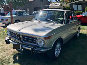 1973 BMW 2002 /w Sunroof