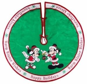 image is loading disney parks santa mickey minnie holiday christmas tree