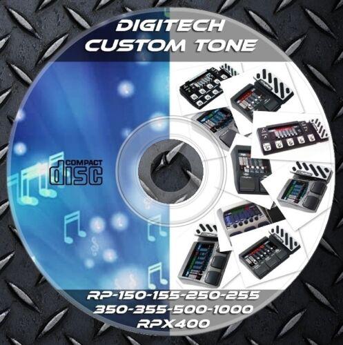 4.631 Patches DIGITECH RP150-RP155-RP250-RP255-RP350-RP355-RP500-RP1000 RPx400