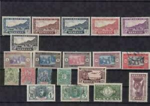 senegal  mounted mint and used  stamps ref r15106