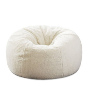 866b86b45757 Details about Fluffy Bean Bag Chairs for Adults Kids Sofa Couch Cover  Berber Fleece Lounger