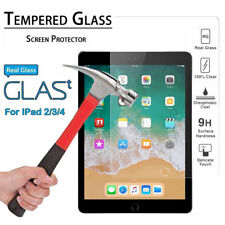 Premium 9h Clear Tempered Glass Film Screen Protector for Apple iPad 2 3 4