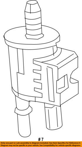 CHRYSLER OEM-Vapor Canister Purge Valve 4627182AA