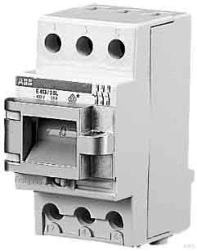 ABB Stotz Hauptschalter 63A 3p. Lampe E 463/3-SL