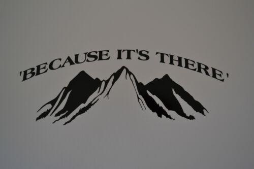 90CM sanctuaires edge car son y mountain sticker autocollant escalade