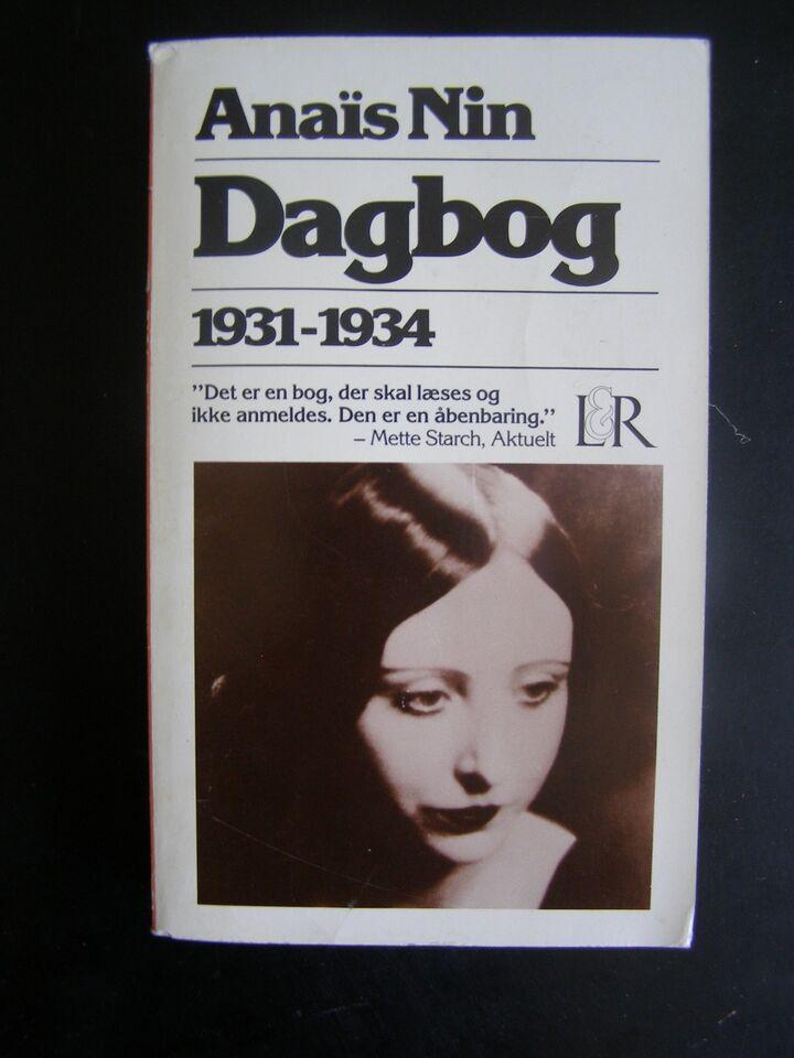 Dagbog 1934-1939, Nin, Anaïs