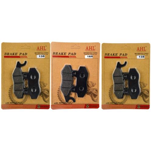 F/&R Brake Pads for Can Am Commander 800 1000 STD XT DPS X LTD XT-P UTV 2011-2016