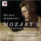 Wolfgang Amadeus Mozart - Last Symphonies: Mozart's Instrumental Oratorium (2014)