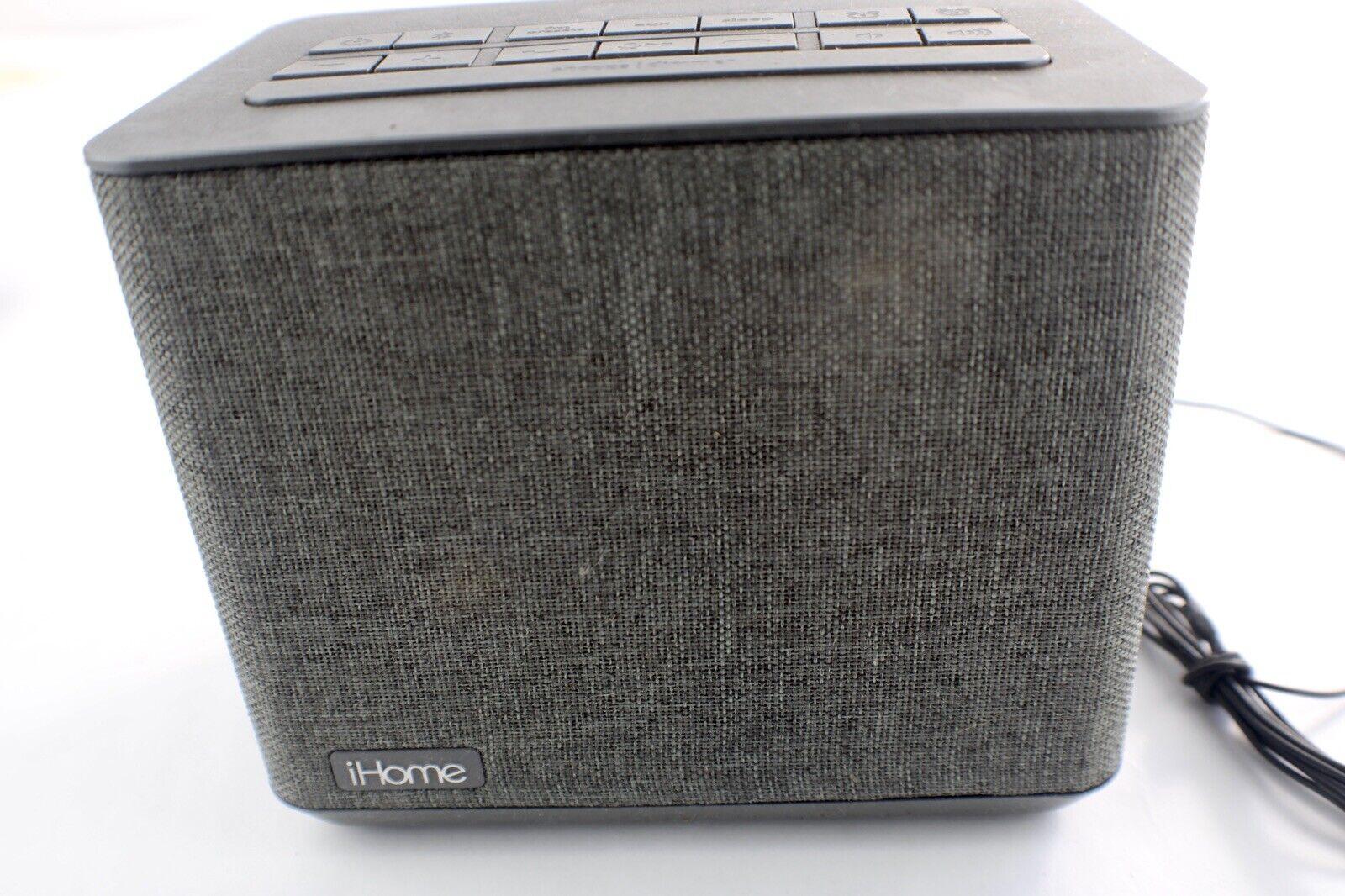 iHome Bluetooth Dual Alarm Clock Radio + USB Charging - iBT232