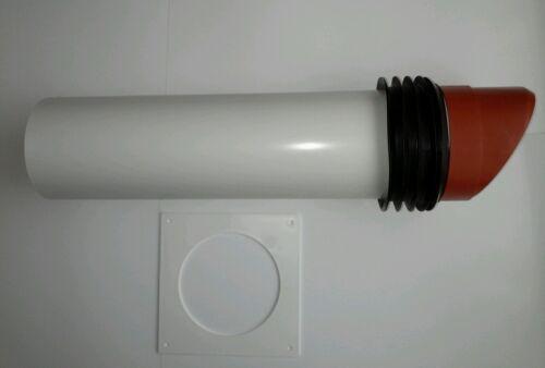 TERRACOTTA High Rise Muro Vent Kit 100mm Estrattore//Tubo Ventola Asciugatrice o