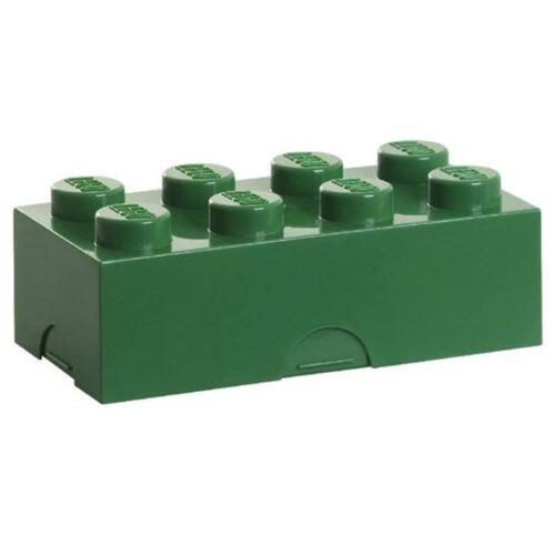 LEGO LUNCH//Boîte de rangement vert Kids Boîte Déjeuner École Officiel Neuf Gratuit P P