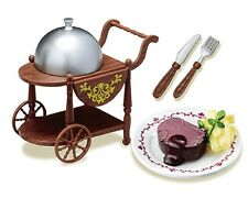 New ~Re-ment Miniature Japan Taisho Roman Dinner Trolley Tea trolley -  No.2