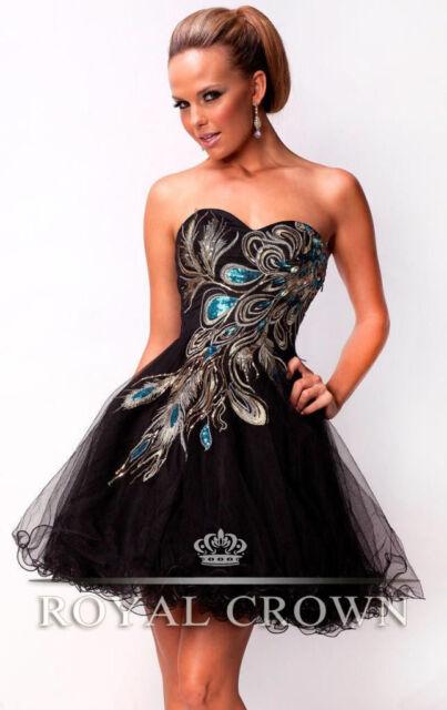 Sexy Mini Kleider Abendkleid Ballkleider Cocktailkleider Größe 34 36 38 40 42