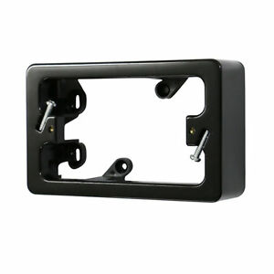 10-x-34mm-Standard-Mounting-Block-Powerpoint-Switch-Mounting-BLACK