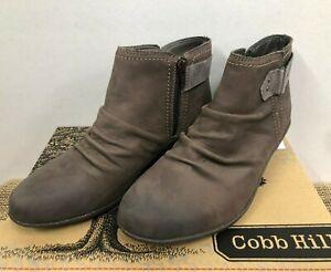 b199e2286c83 NIB Cobb Hill CCR09ST Women s Nicole-CH Stone Ankle Bootie