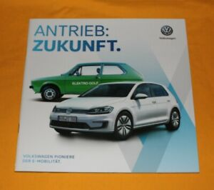 VW-Elektro-E-Mobilitaet-2017-Prospekt-Brochure-Catalog-Folder-Prospetto-Golf-T2
