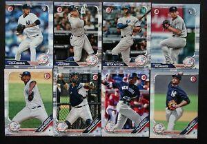 2019-Bowman-New-York-Yankees-Paper-Base-Team-Set-8-Baseball-Cards
