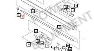 genuine echo drive shaft ppt part ech 61001122460 ebay
