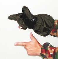 Italian Military Leather & Synthetic Trigger Mitts Ecwcs