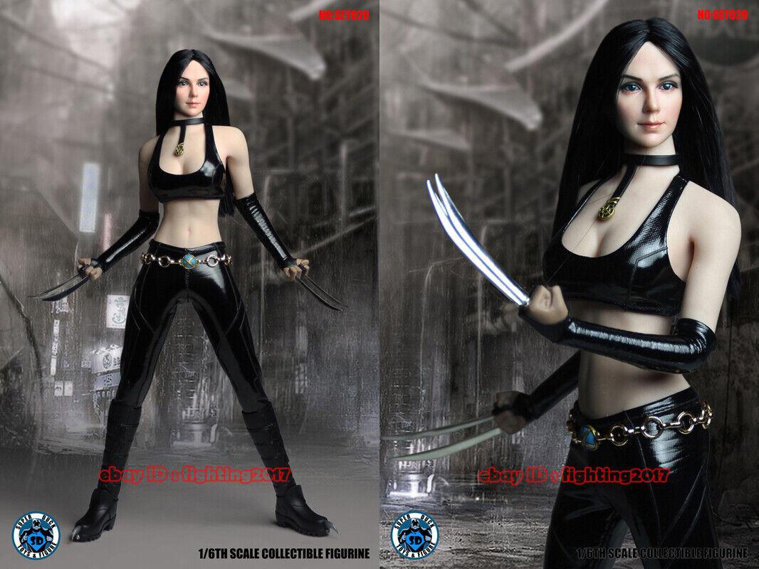 súperduck SET020 1 6 X-23 Wolverine Laura Kinney Head & Ropa Set En Stock