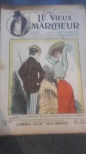 Rivista Jeans Che Rit N° 361 1909 Giornale Illustre che Appaiono Il Venerdì ABE