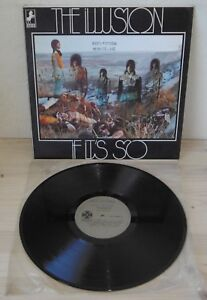 LP THE ILLUSION If it's so (Steed/Paramount 70 VENEZUELA) 1st ps hard psych VG