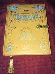 Disney-Cinderella-Replica-Storybook-Journal-New