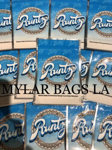 Jokes Up Runtz Exclusive Mylar Bags 25 Pack Empty Food Storage Bags 2020 New