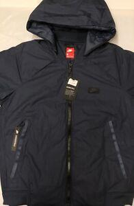 Convertibile Nike giacca Brand Nuovo con da uomo per tag Down Fill Medium Cappotto qATwxpBn8