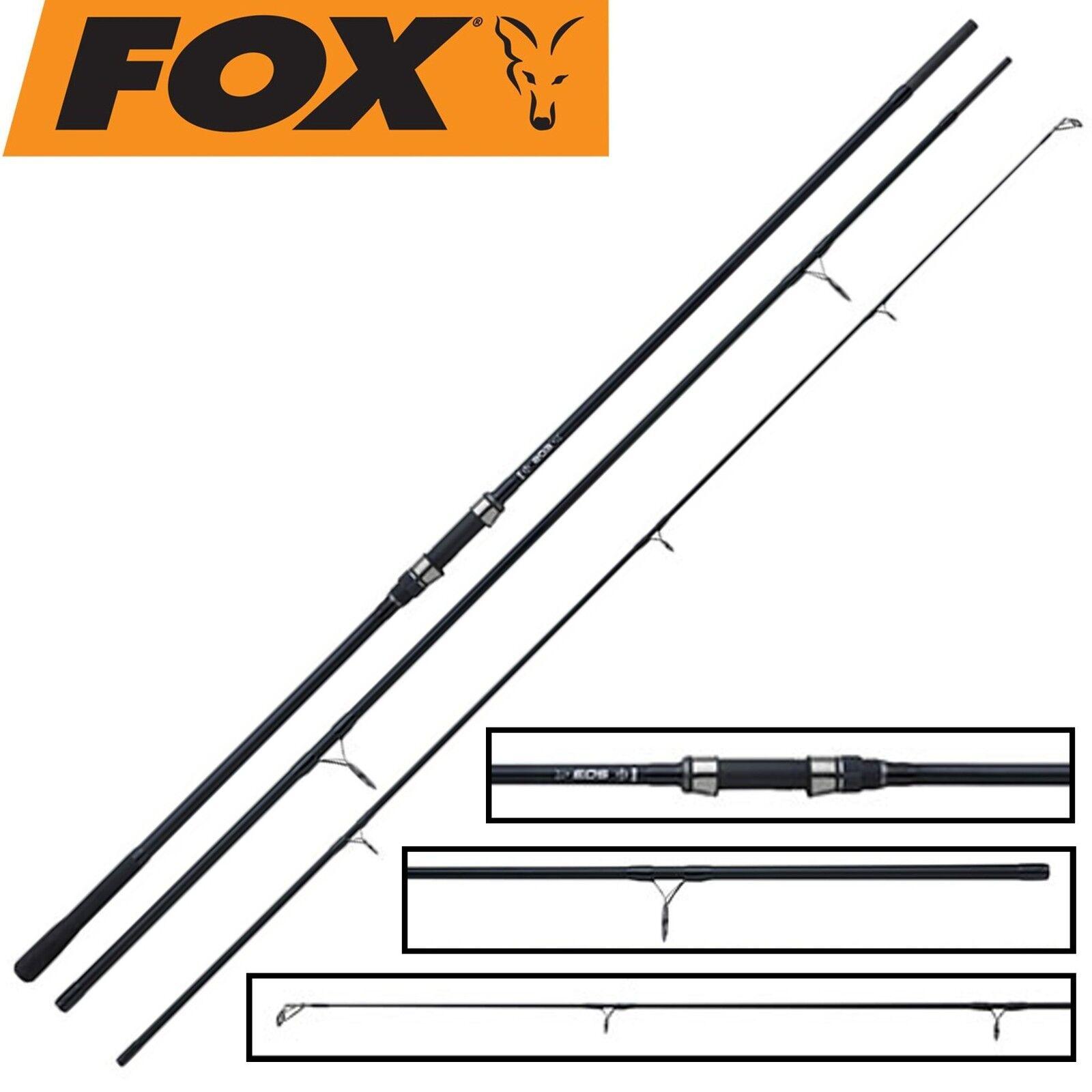 Fox Eos Abbreviated Handle 12ft 3lbs - Karpfenrute für Boiliemontagen, Angelrute