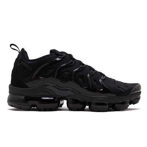 Size 13 - Nike Air VaporMax Plus Triple Black 2018 for sale online ...