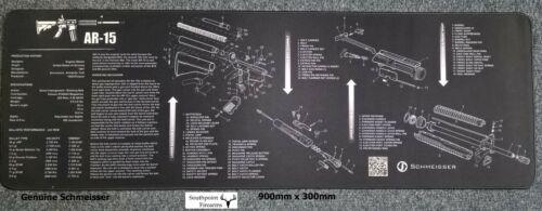Rifle Pulizia Tappetino di manutenzione-originale AR 15 Schmeisser