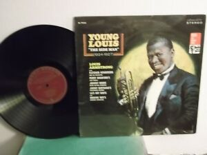 Louis-Armstrong-Decca-79233-034-Young-Louis-The-Side-Man-034-US-LP-st-early-jazz-M
