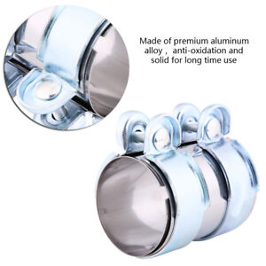 Details about 2 Inch Vehicle Auto Turbo Exhaust Band Clamp Muffler Pipe  Connector W/ Bolts BT