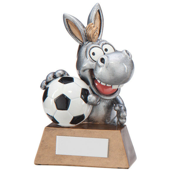 What a Donkey Football Trophy Award FREE Engraving
