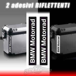2-adesivi-BMW-MOTORRAD-riflettenti-stickers-borse-valige-laterali-GS-R1200-R1250