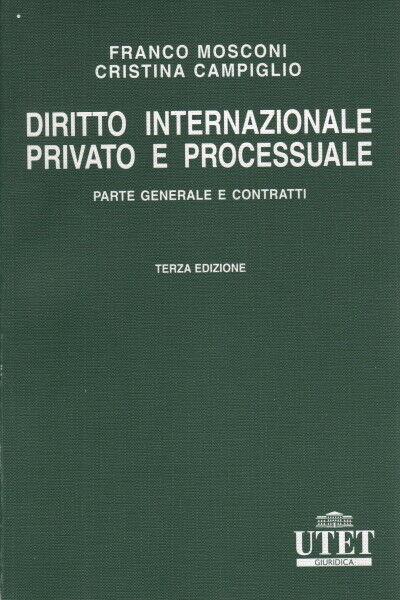 Diritto internazionale privato e processuale - AA.VV. (UTET)