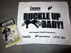 Pittsburgh Penguins 2014 Playoff RALLY TOWEL Round/Game 2 Rangers Program Fleury