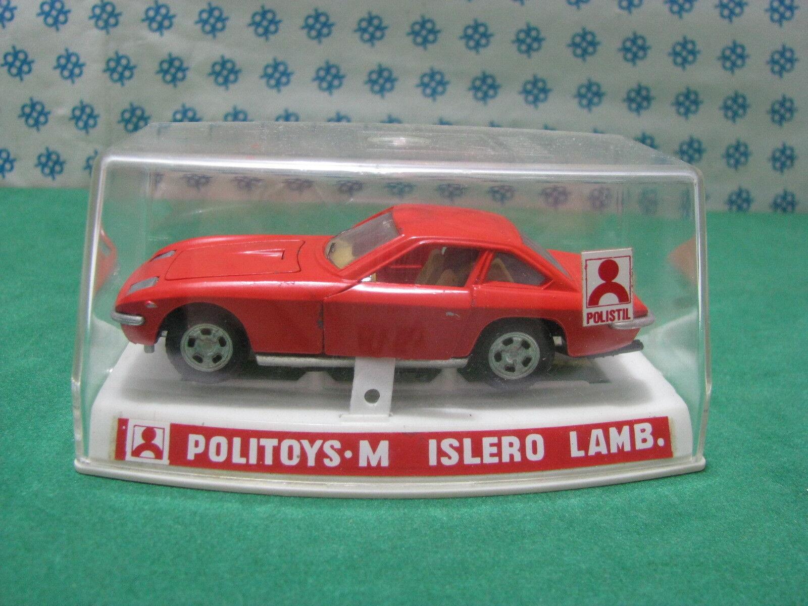 Vintage - Lamborghini Islero - 1 43 Politoys -m558 Nmib