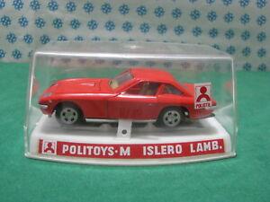 Vintage-LAMBORGHINI-ISLERO-1-43-Politoys-M558-NMIB