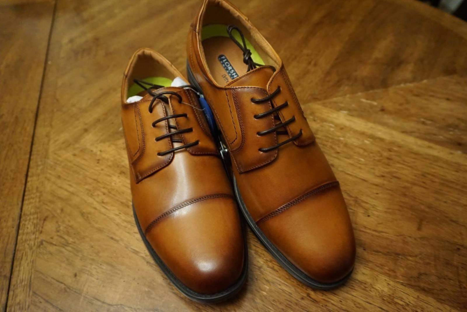 Florsheim schuhe Midtown Cap Toe Oxford Cognac Casual Casual Casual Dressy Leather 12138-221 5c8598
