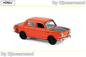 Simca-1000-Rallye-2-1974-Sumatra-Rouge-NOREV-NO-571093-Echelle-1-87