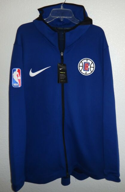 2158690db NWT MENS XXL NIKE DRI-FIT LA CLIPPERS THERMA FLEX SHOWTIME HOODIE NBA  BASKETBALL