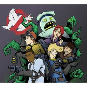 D cialda in ostia the real ghostbusters cartoni animati