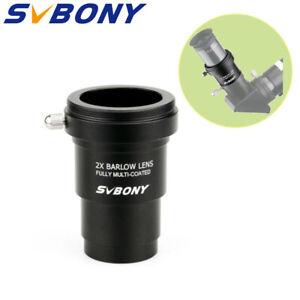 SVBONY-1-25-039-039-Barlow-Lens-2X-MC-M42x0-75-Thread-Camera-Connect-Interface-Hotest