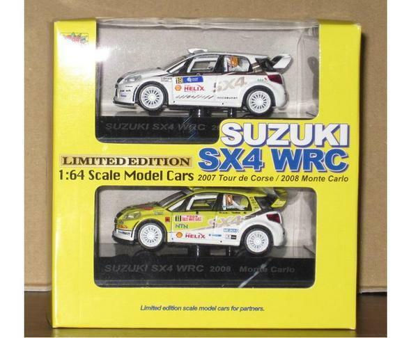 Nouveau Centimètres 1 64 Voiture Course Collection Suzuki (Suzuki) Sx4 WRC