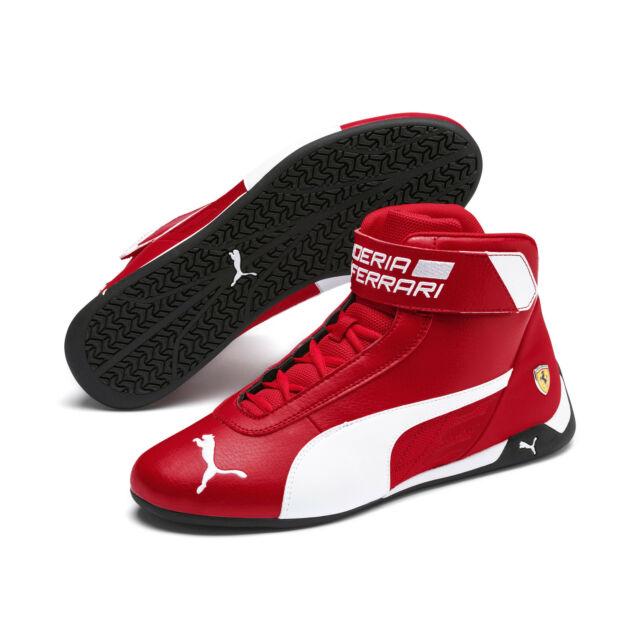 PUMA Scuderia Ferrari R Cat Mid Men's Motorsport Shoes Men Mid Boot Auto