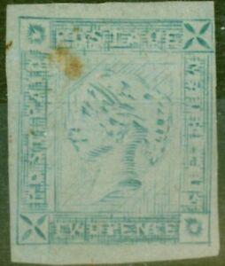 Mauritius-1859-Lapirot-2d-Blue-Worn-Impression-SG39-Ave-Mtd-Mint-Part-O-G-CV-5